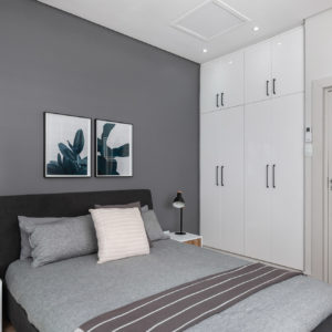 Chad Le Clos guest bedroom