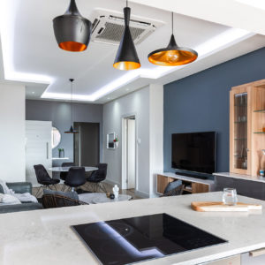 Chad Le Clos tom dixon pendants